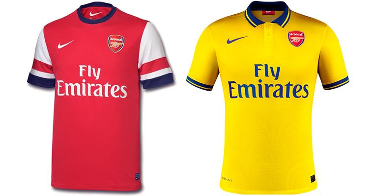 "Форма ""Арсенала"" 2013-2014"
