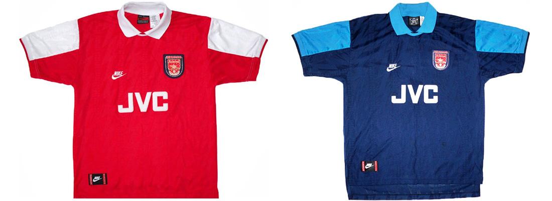 "Форма ""Арсенала"" 1994-1995"