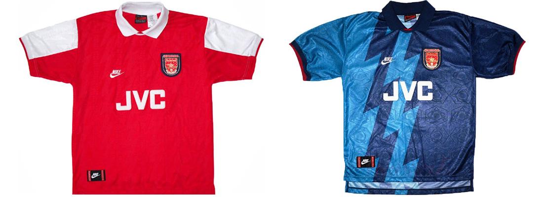 "Форма ""Арсенала"" 1995-1996"