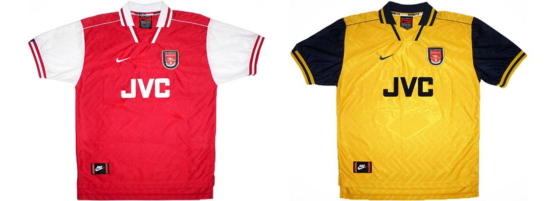 "Форма ""Арсенала"" 1996-1997"