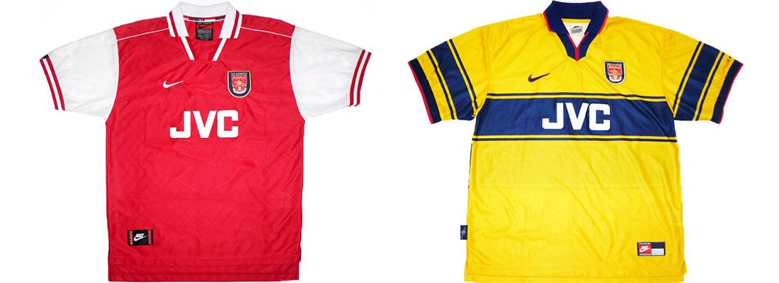 "Форма ""Арсенала"" 1997-1998"