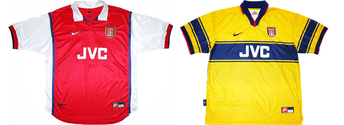 "Форма ""Арсенала"" 1998-1999"