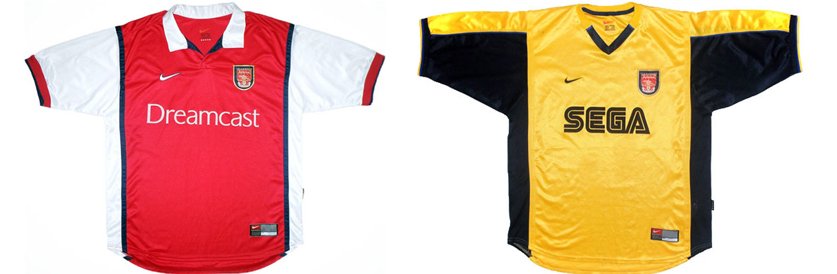 "Форма ""Арсенала"" 1999-2000"