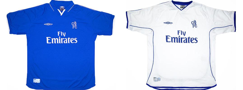 "Форма ""Челси"" сезона 2001-2002"