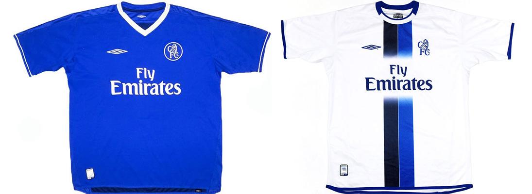 "Форма ""Челси"" сезона 2003-2004"