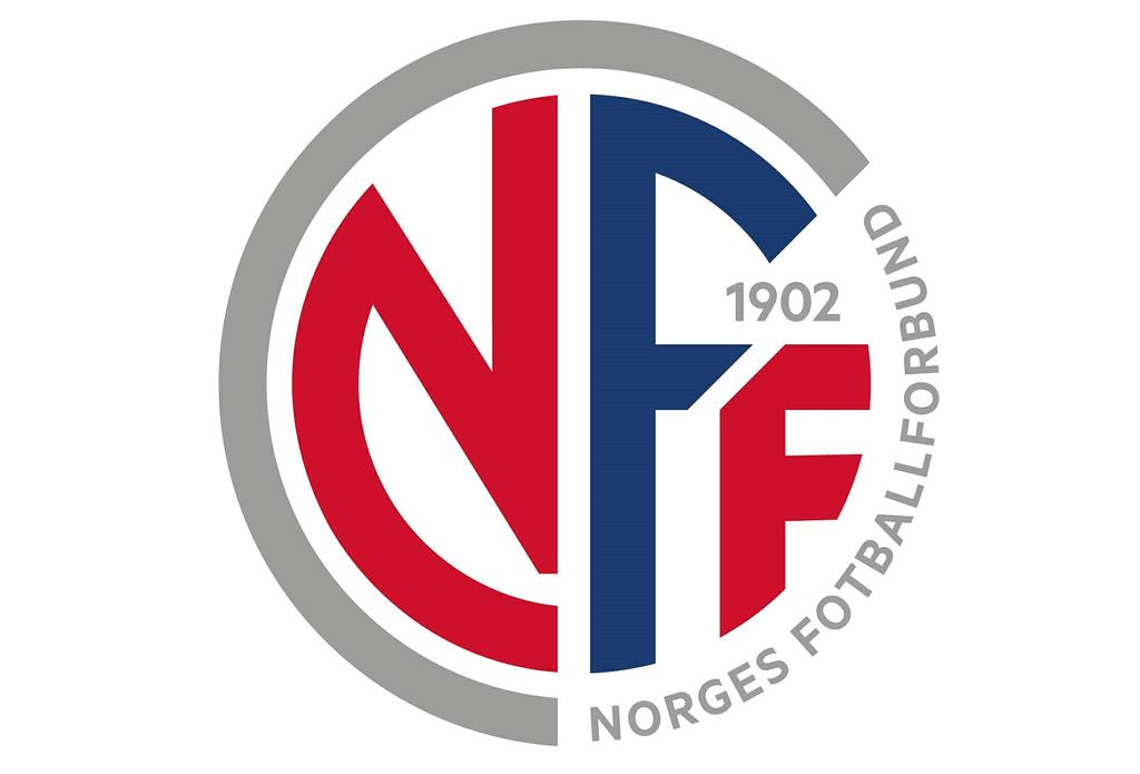 Новый логотип футбольной федерации Норвегии.