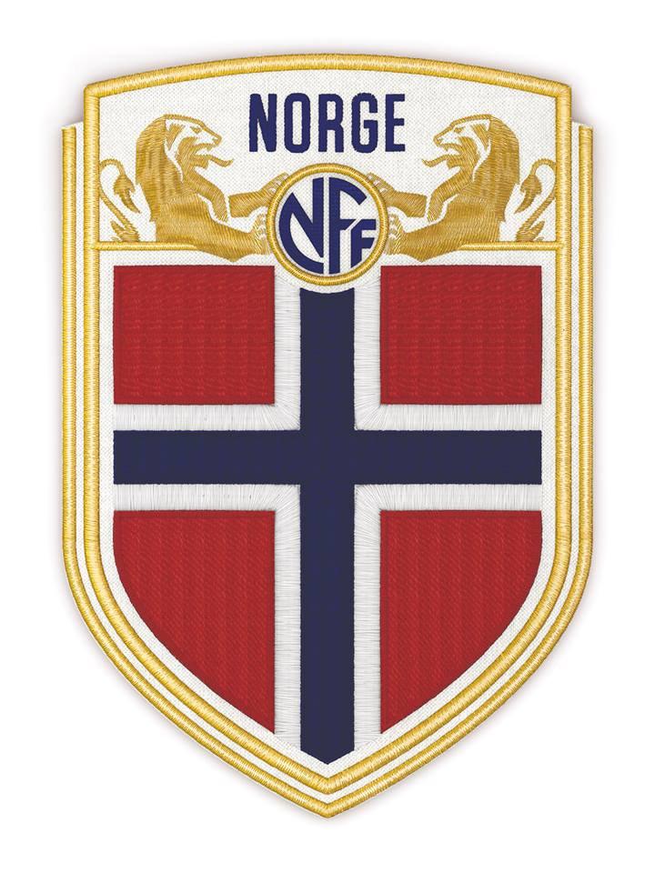 Новая эмблема сборной Норвегии