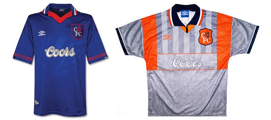 "Форма ""Челси"" сезона 1994-1995"