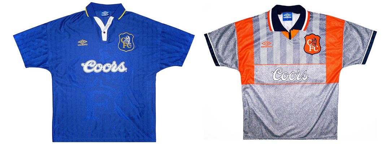 "Форма ""Челси"" сезона 1995-1996"