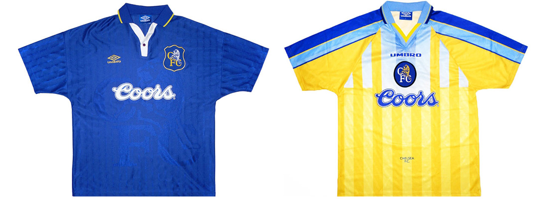 "Форма ""Челси"" сезона 1996-1997"