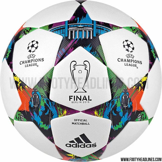 Официальный мяч Лиги Чемпионов 2014-2015