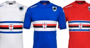 Sampdoria 14-15 Kits