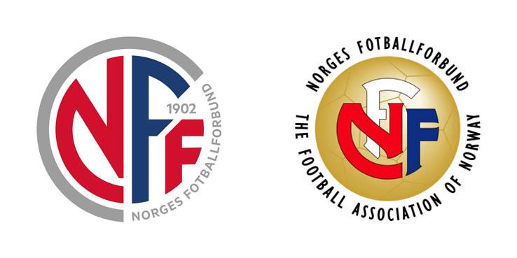 Новый логотип Федерации Футбола Норвегии