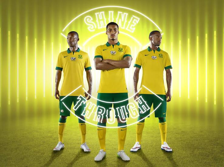 Форма ЮАР на Кубок Африканских наций 2015