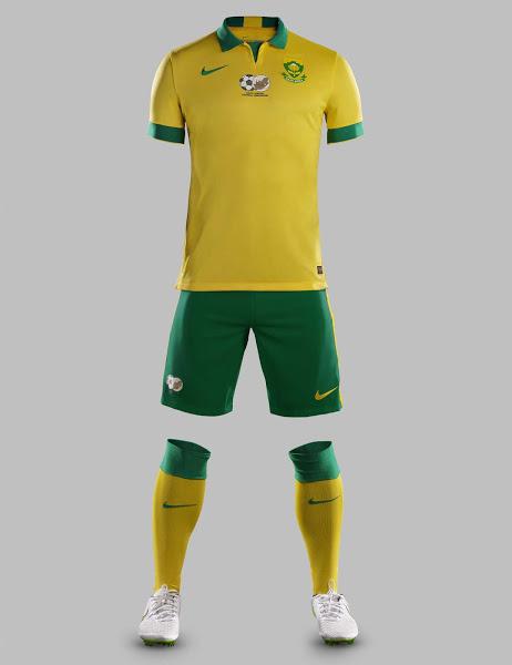 Форма сборной ЮАР 2015