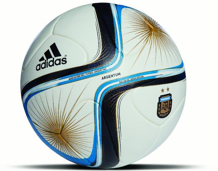 Мяч чемпионата Аргентины Adidas Argentum 2015
