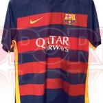 Домашняя форма Барселоны 15-16