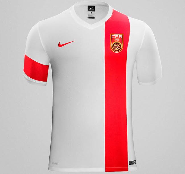 Гостевая форма сборной Китая 2015