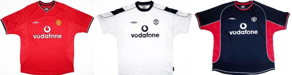 "Форма ""Манчестер Юнайтед"" в сезоне 2000/2001."