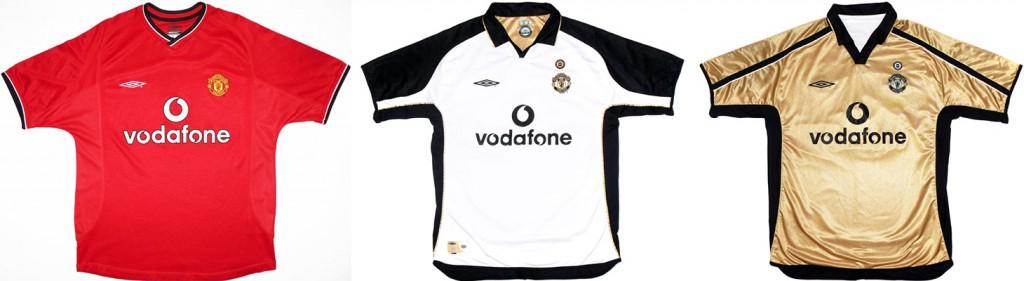 "Форма ""Манчестер Юнайтед"" в сезоне 2001/2002."
