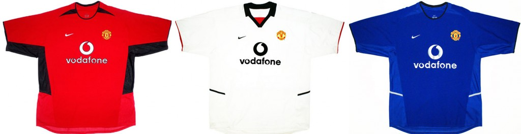 "Форма ""Манчестер Юнайтед"" в сезоне 2002/2003."