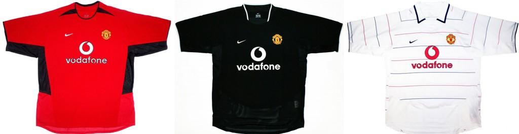"Форма ""Манчестер Юнайтед"" в сезоне 2003/2004."