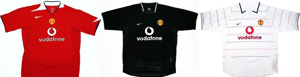 "Форма ""Манчестер Юнайтед"" в сезоне 2004/2005."