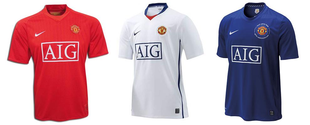 "Форма ""Манчестер Юнайтед"" в сезоне 2008/2009."