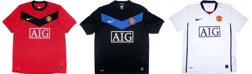 "Форма ""Манчестер Юнайтед"" в сезоне 2009/2010."