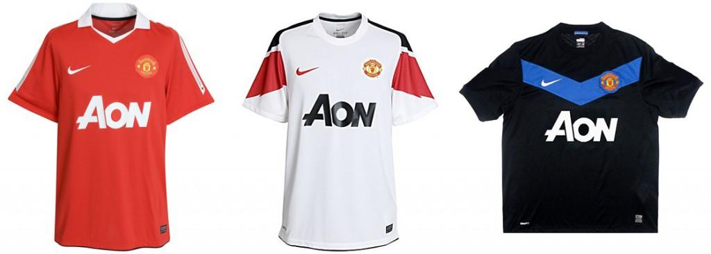 "Форма ""Манчестер Юнайтед"" в сезоне 2010/2011."