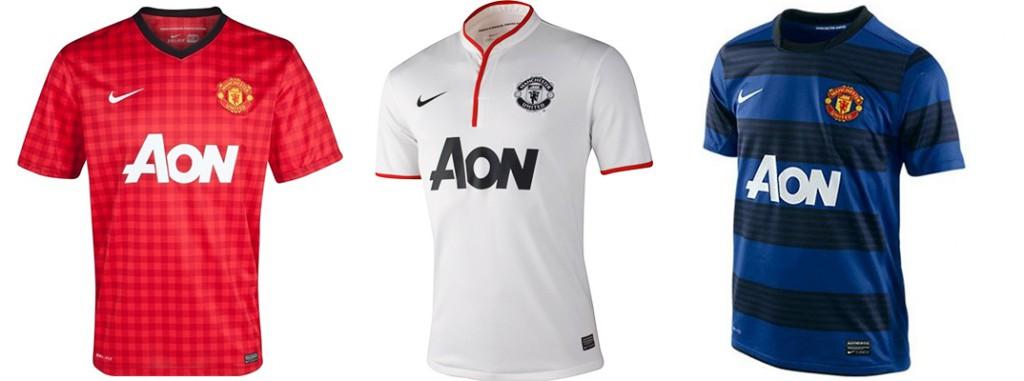 "Форма ""Манчестер Юнайтед"" в сезоне 2012/2013."