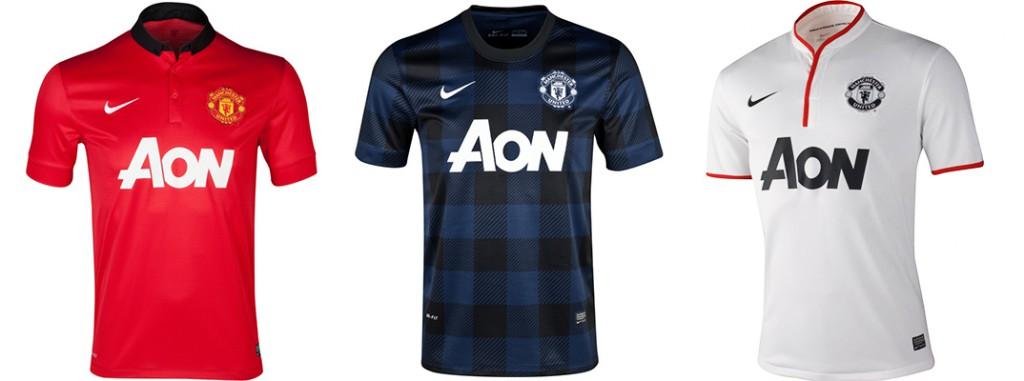 "Форма ""Манчестер Юнайтед"" в сезоне 2013/2014."