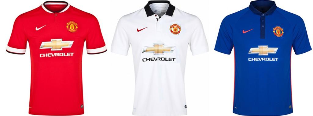 "Форма ""Манчестер Юнайтед"" в сезоне 2014/2015."