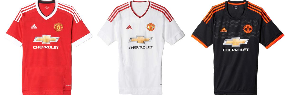 "Форма ""Манчестер Юнайтед"" в сезоне 2015/2016."