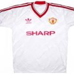 Форма «Манчестер Юнайтед» в сезоне 1986/88.