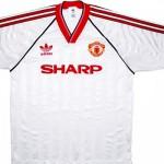 "Форма ""Манчестер Юнайтед"" в сезоне 1988/90."