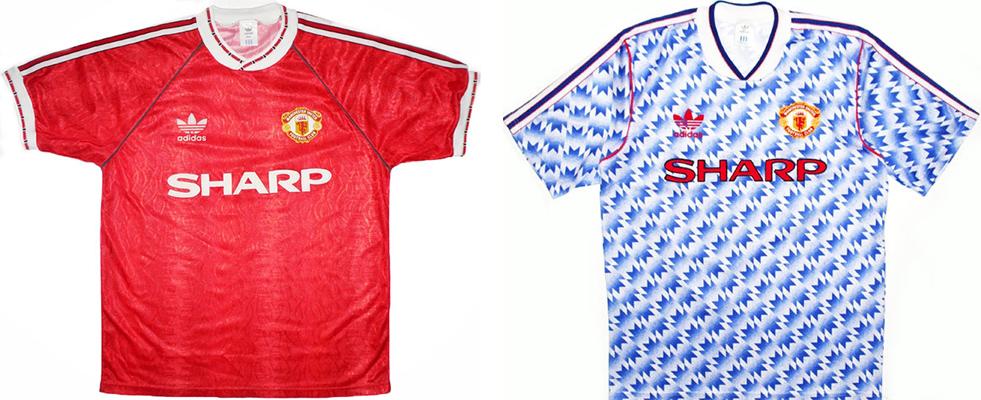 "Форма ""Манчестер Юнайтед"" в сезоне 1990/92."