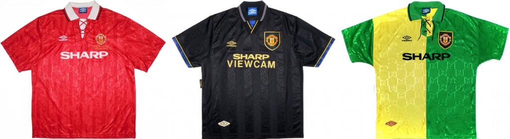 "Форма ""Манчестер Юнайтед"" в сезоне 1993/94."