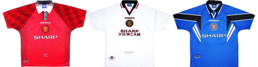 "Форма ""Манчестер Юнайтед"" в сезоне 1996/97."