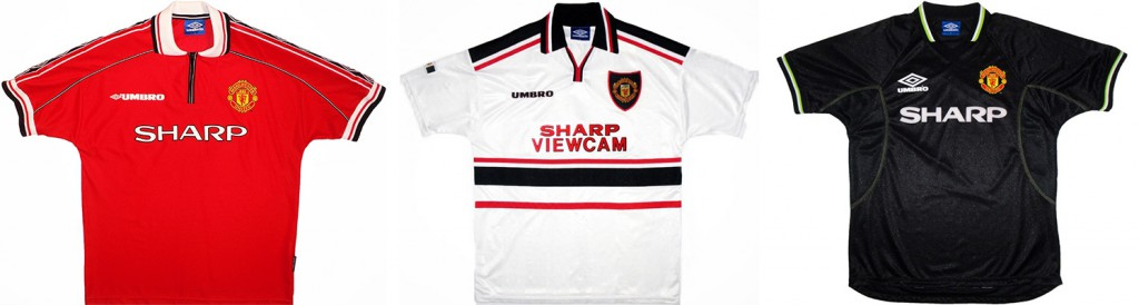 "Форма ""Манчестер Юнайтед"" в сезоне 1998/99."