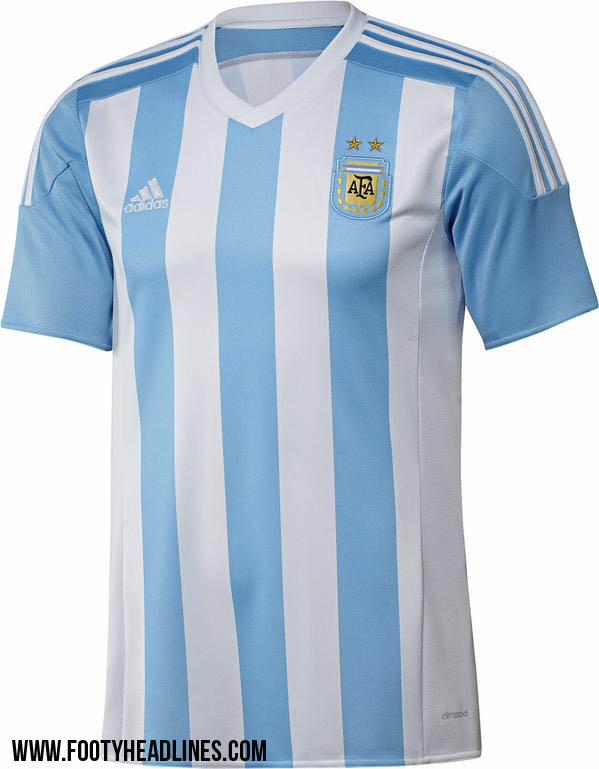Форма сборной Аргентины на Кубке Америки 2015