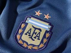 Гостевая форма сборной Аргентины на Кубке Америки 2015