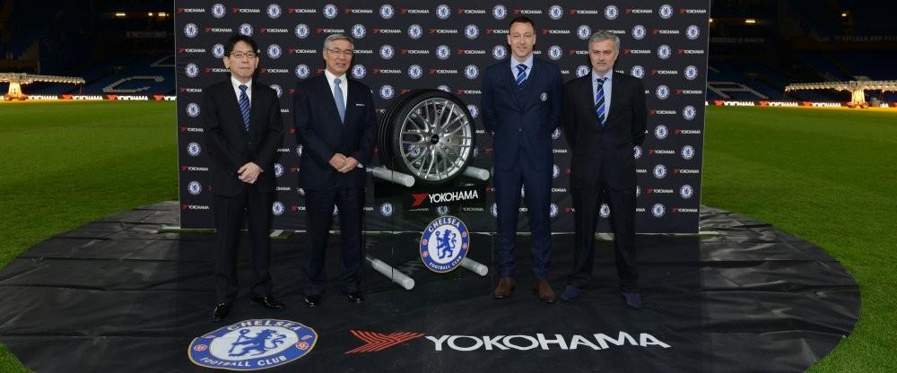 """Новым титульным спонсором """"Челси"""" стала компания Yokohama"""