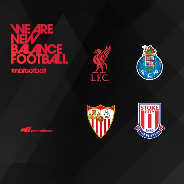New BAlance спонсирует 4 клуба.