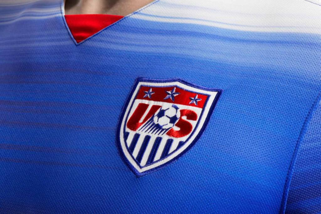 Гостевая форма сборной США 2015