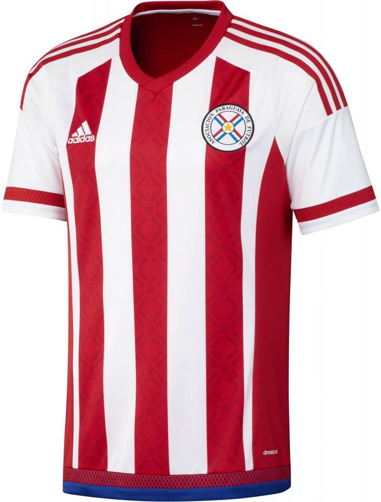 Домашняя форма сборной Парагвая 2015