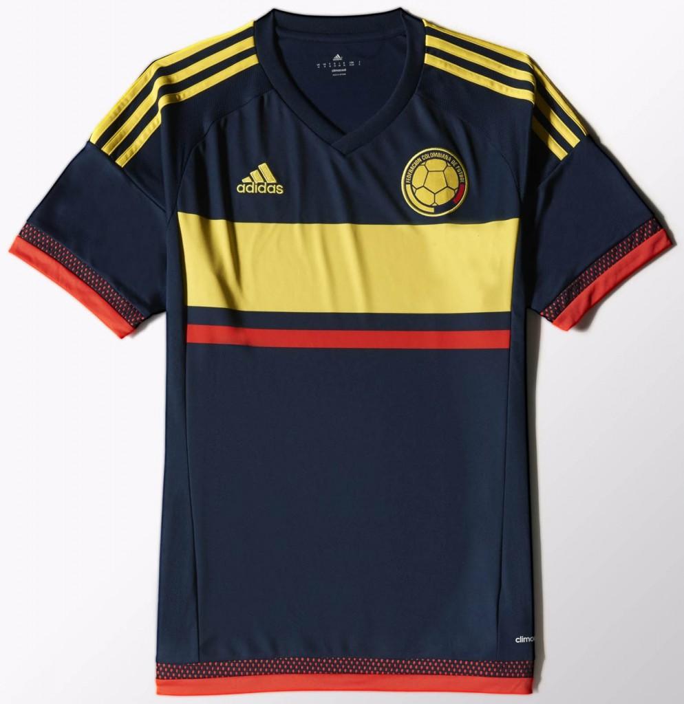 Гостевая форма сборной Колумбии 2015