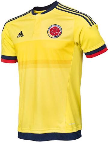 Домашняя форма сборной Колумбии 2015