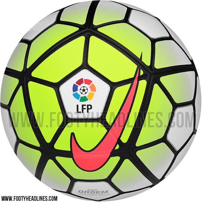 Новый мяч Ла Лиги Nike Ordem La Liga 15-16