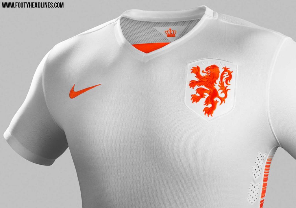 Гостевая форма сборной Голландии 2015